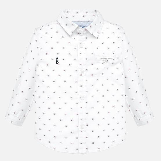 MAYORAL – Koszula z długim rękawem we wzorki