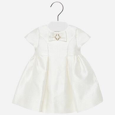 MAYORAL – Sukienka z kokardką przy dekolcie