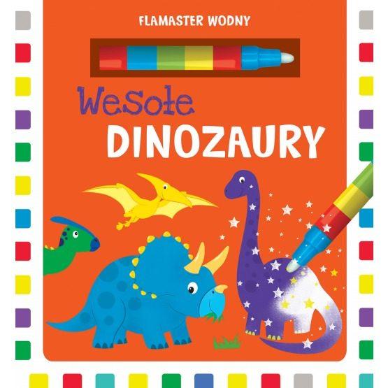 Flamaster wodny –  Wesołe dinozaury