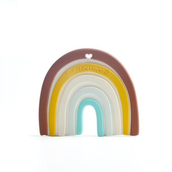 Loulou Lollipop – Gryzak silikonowy tęcza