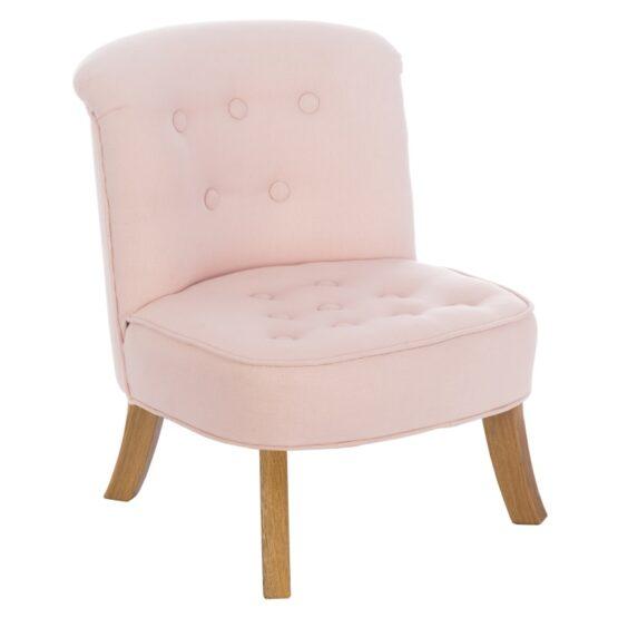 Fotelik – Eko Lniany – Pudrowy róż