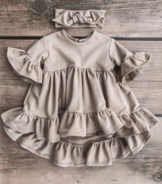 Handmade – Sukienka nude