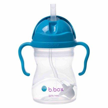 b.box – Bidon ze słomką 240ml – kobaltowy