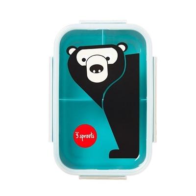 3 Sprouts – Lunchbox Bento Niedźwiedź Teal