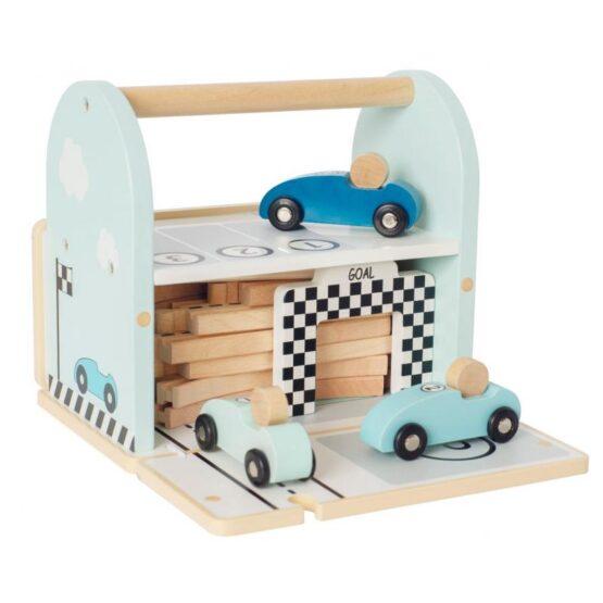 JaBaDaBaDo – Drewniany tor wyścigowy z autami