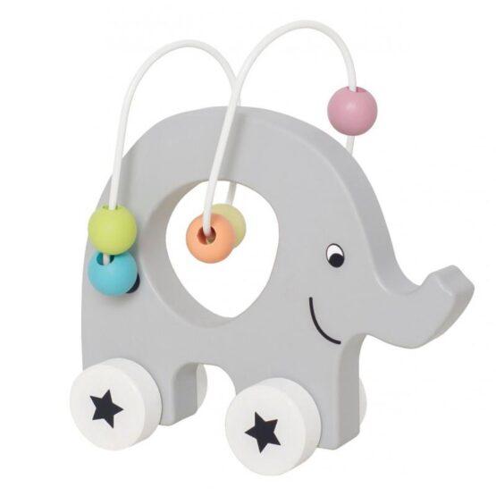 JaBaDaBaDo – Mini labirynt na kółkach – słoń przeplatanka