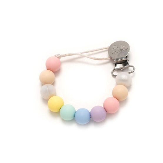 LouLou Lollipop – Zawieszka do smoczka lub gryzaka – Cotton Candy