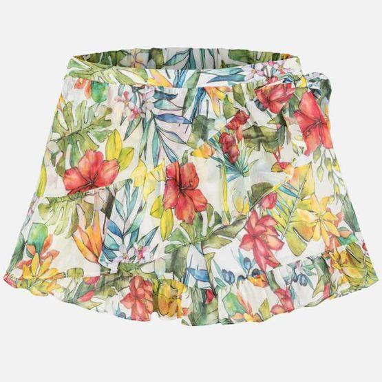 MAYORAL – Spódnico-spodnie w kwiaty