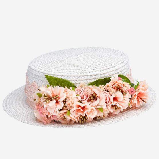 MAYORAL – Kapelusz w kwiaty