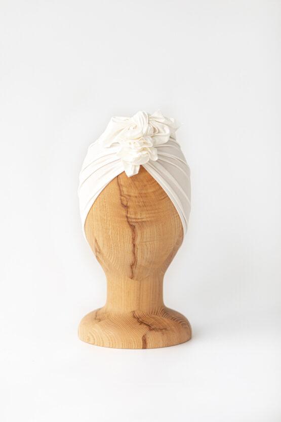 Looks By Luks – Turban Bamboo Light – Pearl White