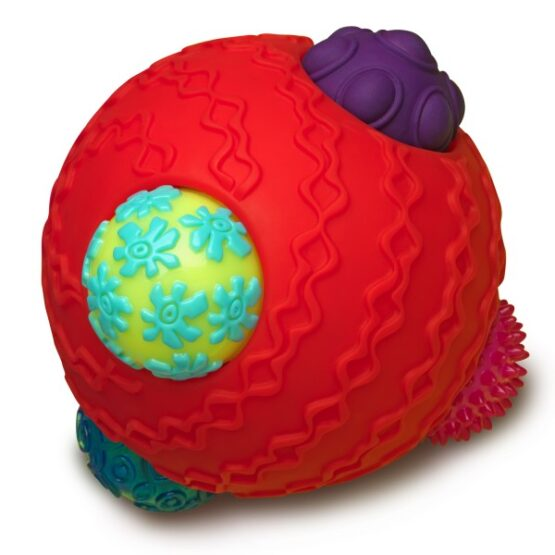 B.toys – Ballyhoo – kula z piłkami – kombinacyjny zestaw sensoryczny