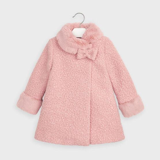 MAYORAL – Różowy płaszczyk