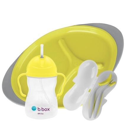 B.box – Zestaw do karmienia – Lemon