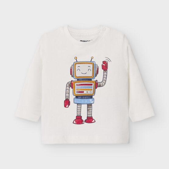 MAYORAL – Koszulka robot z długim rękawem