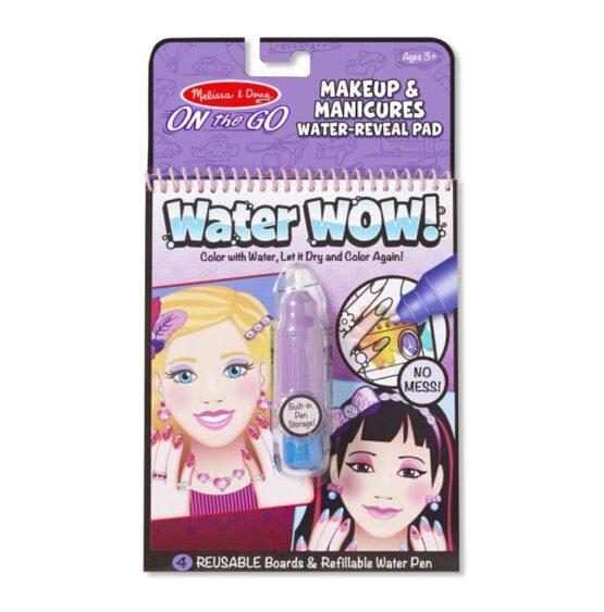WaterWow – Kolorowanka wodna – Makijaż i manicure