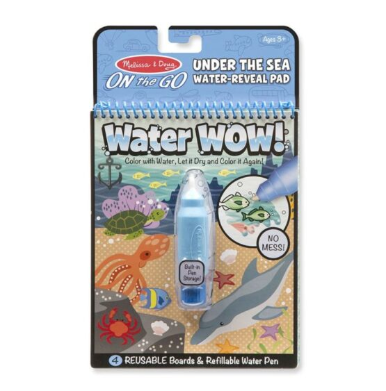 WaterWow – Kolorowanka wodna – Podwodny świat