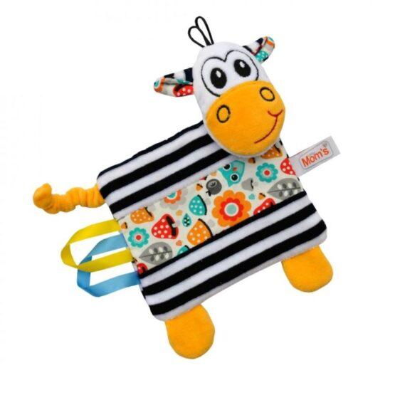 MOM'SCARE – Pluszkowa przytulanka zebra z metkami
