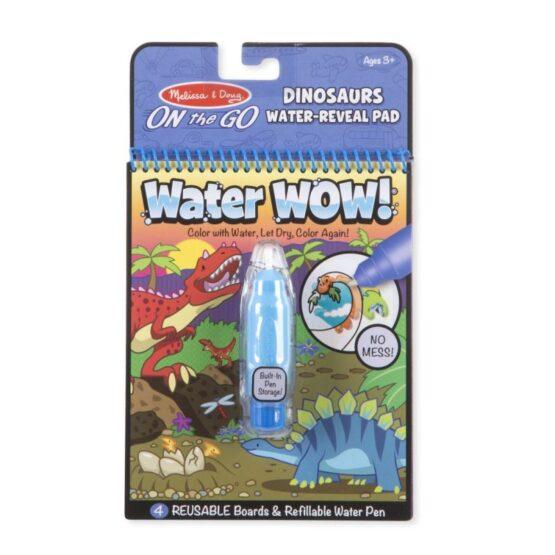 WaterWow – Kolorowanka wodna – Dinozaury