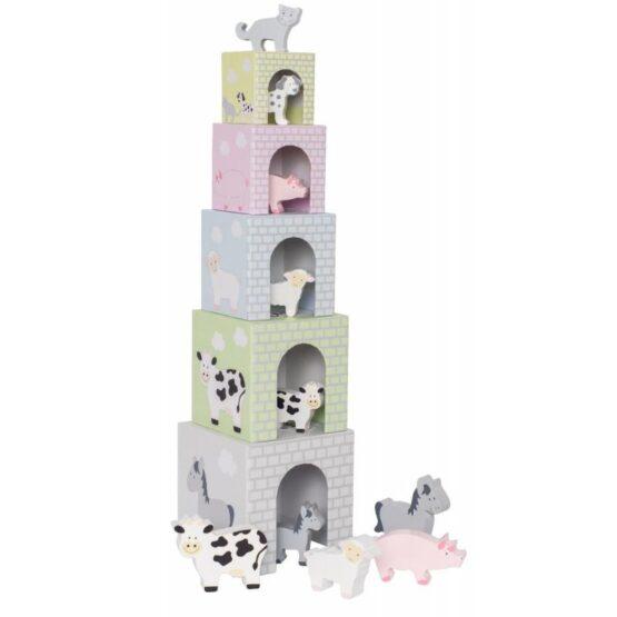 JabaDaBaDo – Piramida, wieża ze zwierzątkami farma