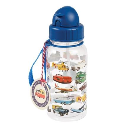 Rex London – Bidon ze słomką 500 ml – Pojazdy