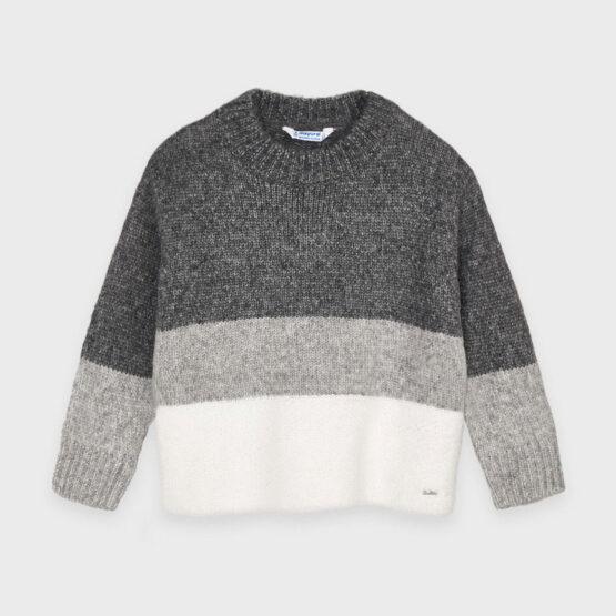 MAYORAL – Sweter trójkolorowy