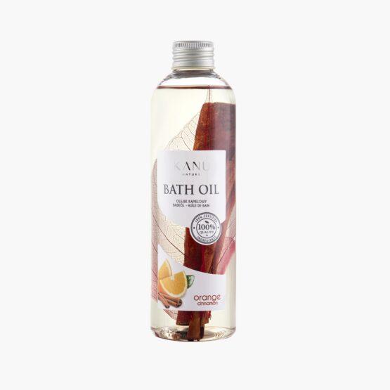 Olejek do kąpieli – pomarańczowo – cynamonowy 250 ml