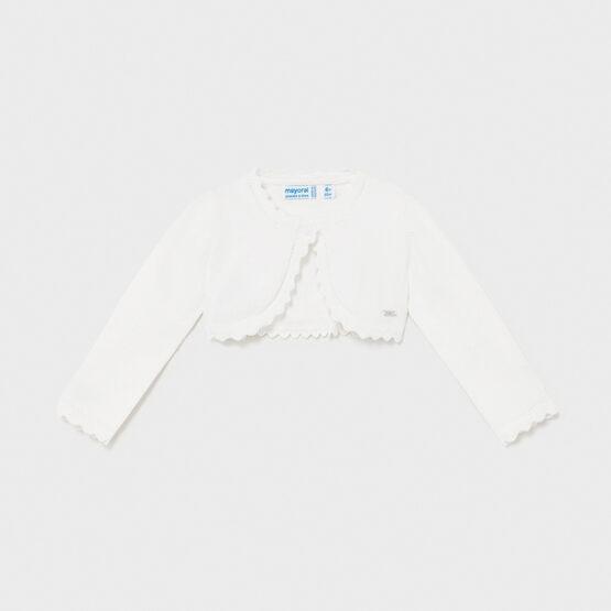 MAYORAL – Sweterek biały